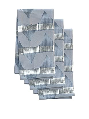 Couleur Nature Set of 3 Aero Tea Towels, Grey