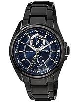 Citizen Eco-Drive Analog Blue Dial Men's Watch - BU3005-51L