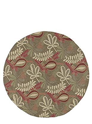 Kaleen Home & Porch Indoor/Outdoor Rug, Coffee, 5' 9