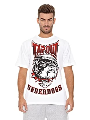 Tapout T-Shirt Crew Neck (Weiß)