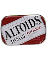 Altoids Small Peppermint Sugar free Mints 10.5 Grams