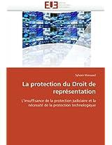 La Protection Du Droit de Representation (Omn.Univ.Europ.)