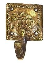 Elegant Brass Dhokra Art Key Holder