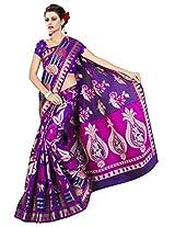 Saree Sansarr Saree (7111_Purple)