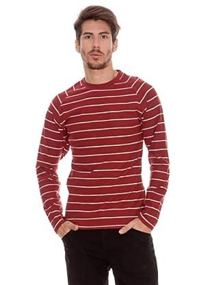 Timeout Camiseta Rayas (Rojo)