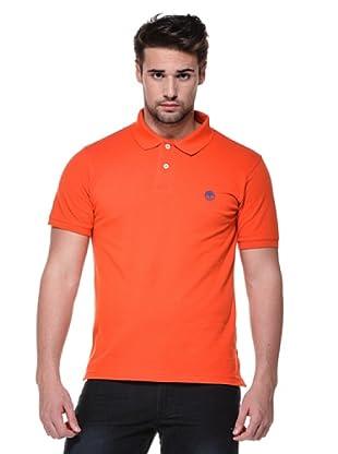 Timberland Polo Liso (Naranja)