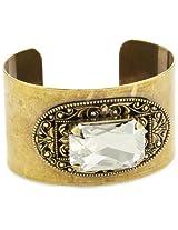 "Liz Palacios ""Piedras"" Swarovski Elements Crystal Cuff Bracelet"