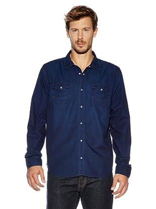 Cross Jeans Hemd (Dunkelblau)