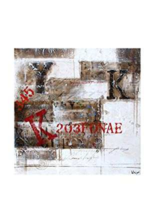 Surya Typography Wall Décor, Multi, 32