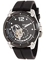 Lancaster Trendy Silicone Strap Analogue White Men's Wacth-OLA0383NR