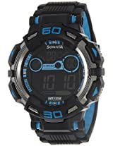 Sonata Ocean Series II Digital Black Dial Men's Watch - 77009PP02J