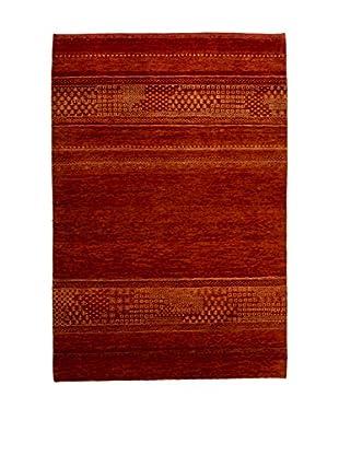 RugSense Teppich Lorry Buff Misto Seta ziegelrot 149 x 102 cm