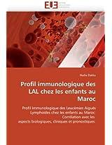 Profil Immunologique Des Lal Chez Les Enfants Au Maroc