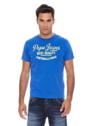 Pepe Jeans London Camiseta New Logo 2 (Azul Klein)