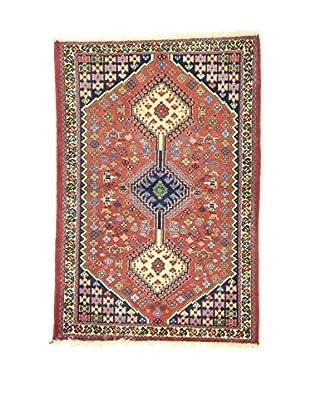 Eden Teppich Yalameh mehrfarbig 85 x 126 cm