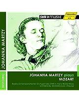 Mozart:Johanna Martzy Plays [Johanna Martzy; Radio Sinfonieorchester Stuttgart des SWR, Hans Muller-Kray] [HANSSLER CLASSIC: 94.23]