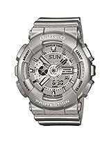 Casio Baby-G Analog-Digital Grey Dial Women's Watch - BA-110-8ADR (BX017)