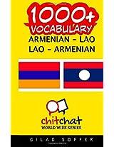 1000+ Armenian-lao Lao-armenian Vocabulary