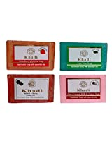 Khadi Soaps 500 Grams (Pack of 4) (STMISHCO4)