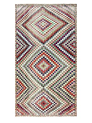 nuLOOM One-of-a-Kind Hand-Knotted Vintage Turkish Overdyed Rug, Multi, 5' 6