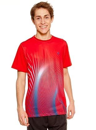 Kelme Camiseta Manga Corta Mont (Rojo)