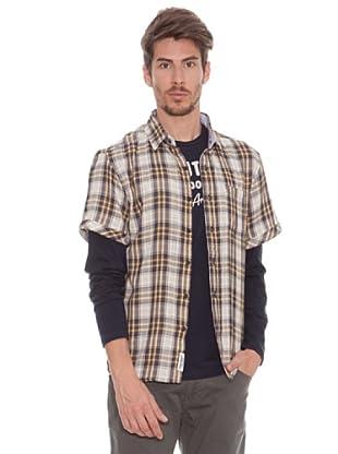 Timeout Camisa Bolsillo (mostaza)