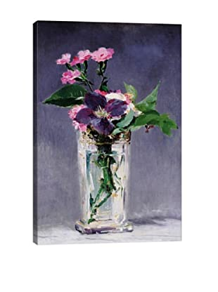 Edouard Manet's Ragged Robins and Clematis Giclée Canvas Print