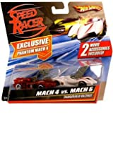 Hot Wheels Speed Racer Phantom Mach 4 vs. Mach 6