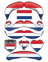 StacheTATS Netherlands Temporary Mustache Tattoos