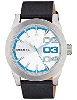 Diesel End of Season Double Dow Analog Silver Dial Men's Watch - DZ1676I
