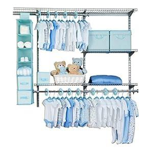 Delta 48 Piece Nursery Storage Set (Blue)