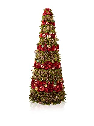 Winward Festive Holiday Cone Tree