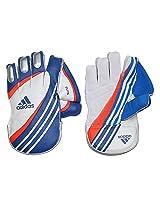 Adidas Elite 16 Wicket Keeper Gloves, Men's Medium (White)