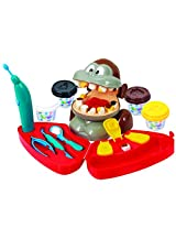 PlayGo Monkey Dentist Clay Dough