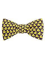 Rubber Ducky Freestyle Bow Ties - Men's Bath Companion Neck Tie