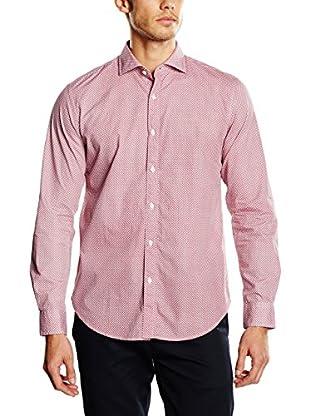 Cortefiel Camisa Hombre Camisa Estampado Dot T-Sp