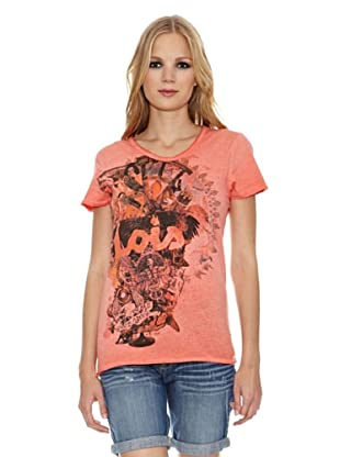 Lois Camiseta Loick (Naranja)