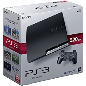 PlayStation 3 (320GB) `R[EubN (CECH-2500B)