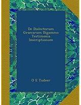 De Dialectorum Graecarum Digammo Testimonia Inscriptionum