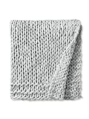 Aviva Stanoff Chunky Throw, Medium Grey