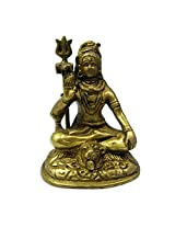 Brass Shiva Sitting