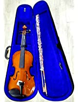 Granada GVA1 4/4 Violin with Hard Case, Rosin, Bow and String set