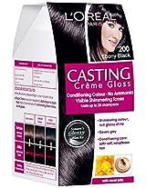 L'Oreal Paris Casting Creme Gloss, Ebony Black 200
