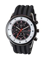 Exotica Analog Black Dial Men's Watch (EFG-15-B)
