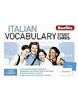 Berlitz: Italian  Vocabulary Study Cards (Berlitz Vocabulary Study Cards)