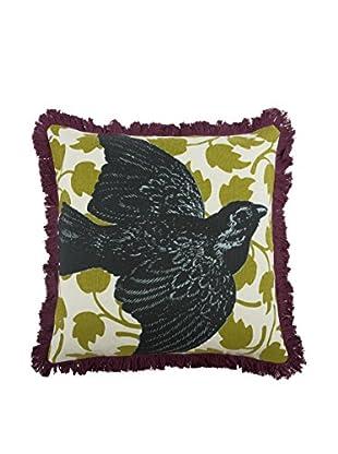 Thomas Paul Bird Pillow, Charcoal
