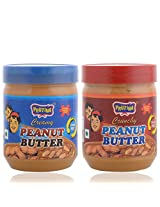Prutina Peanut Butter (Creamy & Crunchy) Pack Of 2 - 680 Gm