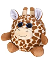 Wild Republic Fuzzball Giraffe Plush