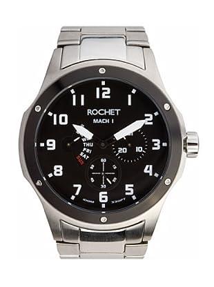 Rochet W707413 - Reloj de Caballero movimiento de cuarzo con brazalete metálico Metálico