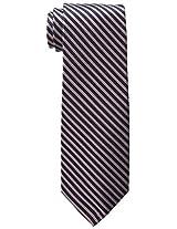 Tommy Hilfiger Men's Double Thin Stripe Tie